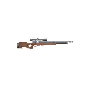 Пневматическая PCP винтовка Атаман M2R Tactical (тактическая), ложе орех