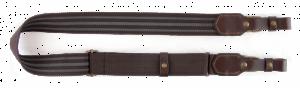 VEKTOR Ремень для ружья из полиамидной ленты коричневый шириной 40 мм