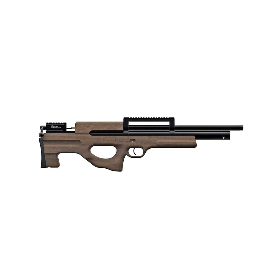 Пневматическая PCP винтовка Атаман M2R буллпап, ложе орех