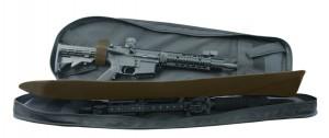Чехол - рюкзак Leapers UTG на одно плечо, цвет черный