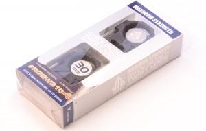 Кольца Leapers UTG 30 мм быстросъемные на Weaver с винтовым зажимом, низкие