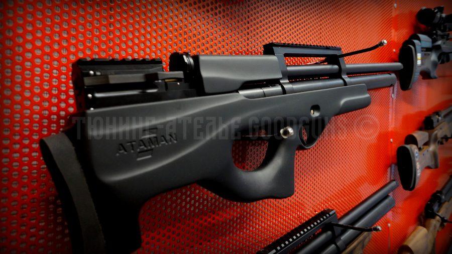 PCP винтовка Атаман буллпап софттач