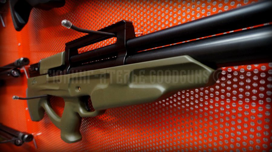 PCP винтовка Атаман буллпап 6.35