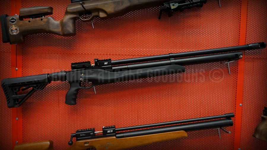 PCP винтовка Атаман тактика тип 4