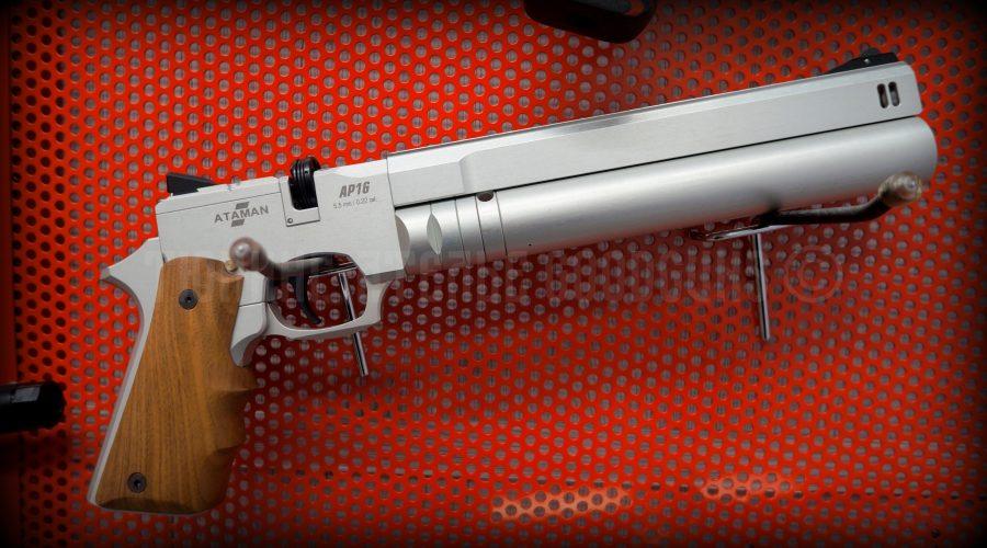 PCP пистолет Атаман кольт