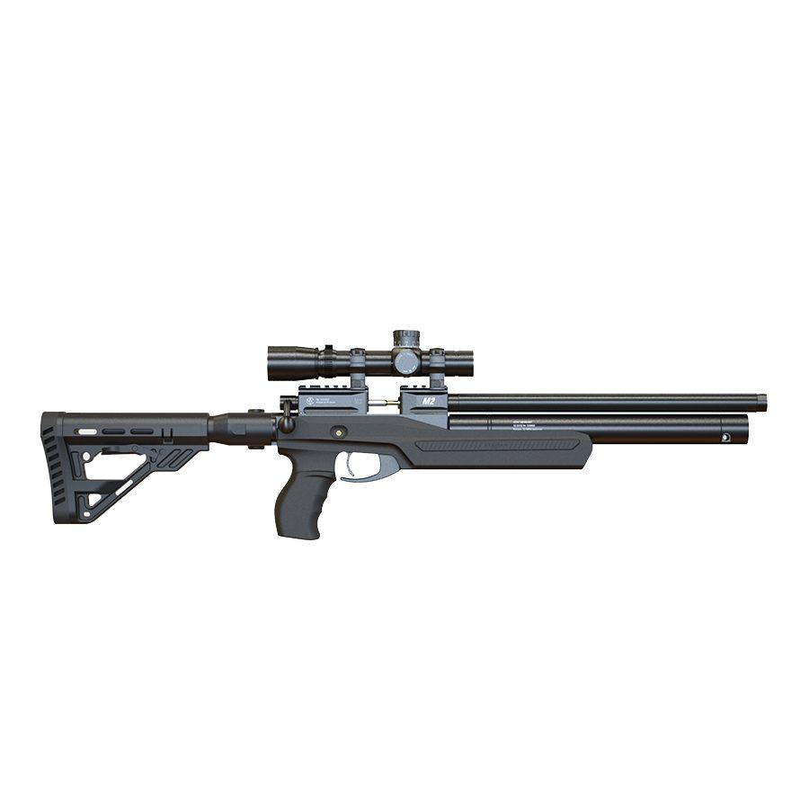 Пневматическая PCP винтовка Атаман M2R ULTRA-C ложе черный соффтач