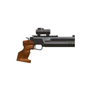 Пневматический PCP пистолет Ocelot (Оцелот)
