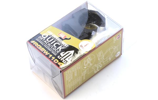 Кольца Leapers UTG 25,4 мм быстросъемные на Picatinny с рычажным зажимом, низкие