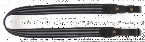 VEKTOR Ремень для ружья из полиамидной ленты черный шириной 35 мм