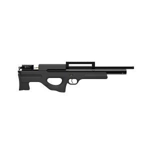Пневматическая PCP винтовка Атаман M2R буллпап, ложе черный софттач