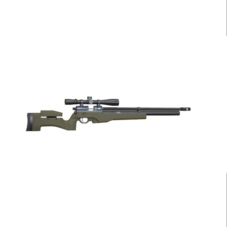 Пневматическая PCP винтовка Атаман M2R Tactical (тактическая), ложе olive