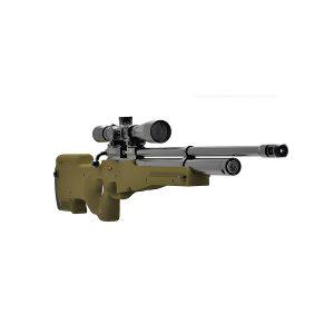 Пневматическая PCP винтовка Атаман M2R Tactical (тактическая), ложе olive (олива)