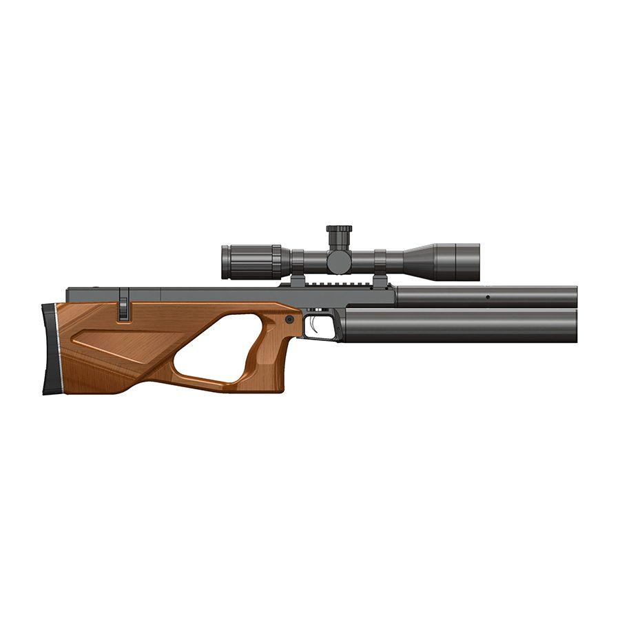 Пневматическая PCP винтовка Colibri (Колибри) ложе бук