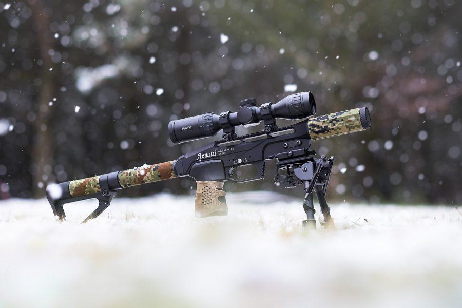 Пневматическая PCP винтовка Эдган Леший