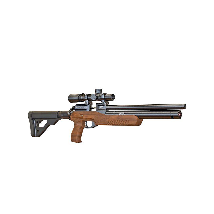 Пневматическая PCP винтовка Атаман M2R ULTRA-C ложе орех